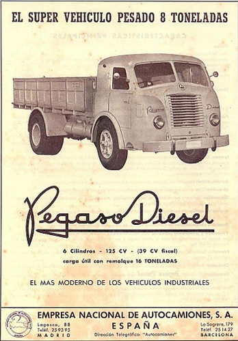 "Pegaso Diesel (Comet) • <a style=""font-size:0.8em;"" href=""http://www.flickr.com/photos/95583826@N05/8746354969/"" target=""_blank"">View on Flickr</a>"