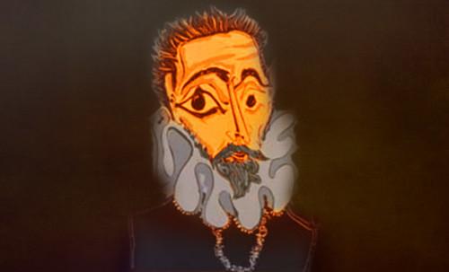 """Hidalgo Ibérico, expresión de Doménikus Theokópoulos el Greco (1597), transcripción de Pablo Picasso (1971). • <a style=""""font-size:0.8em;"""" href=""""http://www.flickr.com/photos/30735181@N00/8746815407/"""" target=""""_blank"""">View on Flickr</a>"""