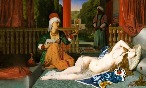 """Genealogía de las Soñantes, versiones de Lucas Cranach el Viejo (1534), Giorgione (1510), Tiziano Vecellio (1524), Nicolas Poussin (1625), Jean Auguste Ingres (1864), Amadeo Modigliani (1919), Pablo Picasso (1920), (1954), (1955), (1961). • <a style=""""font-size:0.8em;"""" href=""""http://www.flickr.com/photos/30735181@N00/8746825119/"""" target=""""_blank"""">View on Flickr</a>"""