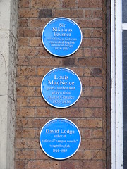 University of Birmingham blue plaques (sludgegulper) Tags: birmingham university