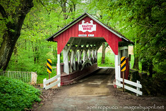 Shaffer Covered Bridge (Images by April) Tags: canon pennsylvania 5d markii westernpennsylvania