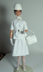 Audrey Hepburn HTSAM OOAK (Lulemee) Tags: celebrity movie nicole doll ooak barbie audrey million erica how kane bonnet hepburn steal repaint heburn htsam