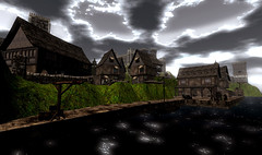 Porto di Lordsport (CrossroadsGdR) Tags: 3d porto secondlife rpg gdr villaggio pyke