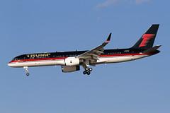 B757-2.N757AF (Airliners) Tags: private corporate boeing donaldtrump trump dca 757 boeing757 b757 61413 n757af b7572