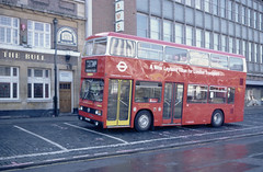 Golden Jubilee Photoshoot Romford Market 23-10-83 (dsj672) Tags: t national routemaster titan ls leyland rm aec rml
