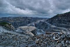 Open pit gold mine, Skelleftea-1 (Syed Shuvra) Tags: rock gold nikon mine sweden mining openpit goldmine d60 openpitmine skelleftea bjrkdal bjrkdalmine