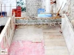 Herrenhaus Orr - Die Betondecke - 49 (foerdervereinrittergutorr) Tags: park haus treppe decke impressionen orr beton renovierung denkmal erinnerungen historisch lahu herrenhaus rittergut wiederaufbau naturschutz pulheim forderverein