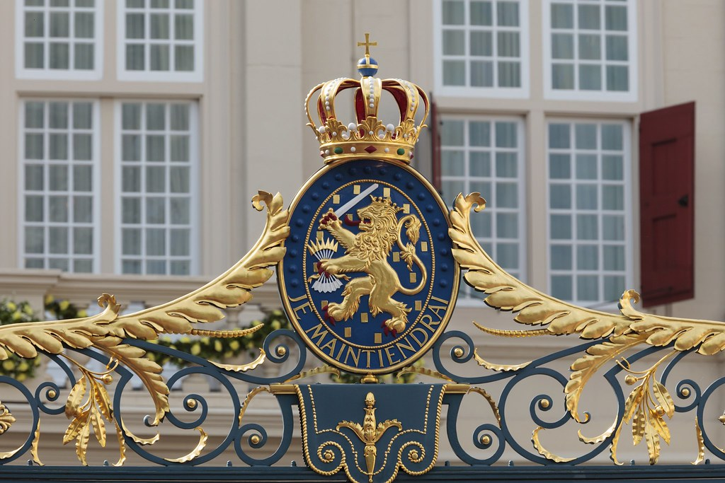 Netherlands' official coat of arms