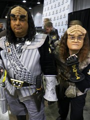 Klingons at Chicago Comic Con 2013 (lesather) Tags: costumes startrek chicago cosplay rosemont il sciencefiction superheroes costuming comicconvention chicagoil klingons wizardworldchicago rosemontil chicagocomicon chicagocomiccon