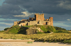 Bamburgh Castle (Dave Snowdon (Wipeout Dave)) Tags: building castle heritage history beach architecture evening northumberland bamburgh djs bamburghcastle wipeoutdave canoneos1100d djs2013 davidsnowdonphotography