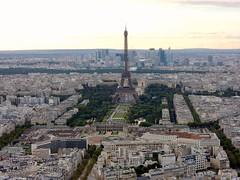 View from the Montparnasse tower (stefan aigner) Tags: paris france tower frankreich europa europe tour maine eiffel eiffelturm montparnasse 14arrondissement arrondissementdelobservatoire