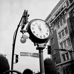 Take Some Time…. (Kinematic Digit) Tags: 6x6 streetphotography squareformat foldingcamera blackandwhitefilm 66format rolleiretro80s welturwelta