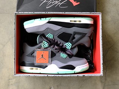 "Air Jordan 4 Retro ""Green Glow"" (chunglee_CL) Tags: street green mike michael glow air sneakers retro jordan 23 4s airjordan sneakerfreak sneakerhead 2013 jumpman23 airjordan4 sneakerlife"