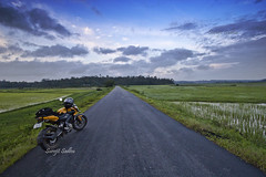 Ride On (surojit666) Tags: travel india nature canon landscape wideangle roadtrip kerala biking motorcycle touring 600d greennature flickrrides