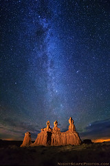 "stars utah sandstone erosion formation hoodoo geology... (Photo: IronRodArt - Royce Bair (""Star Shooter"") on Flickr)"