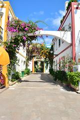 Gran Canaria ( Puerto de Mogan) (Romanie de Groot) Tags: travel summer vacation building colors vakantie nikon zomer gran 1855mm canaria gebouwen d60 f3556