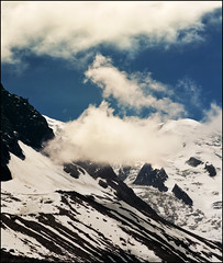 Alpine zebra (Katarina 2353) Tags: travel winter vacation sky white snow france mountains alps nature clouds landscape photography nikon paisaje range mont blanc montblanc katarinastefanovic katarina2353