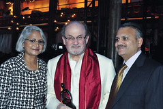 Salman Rushdie @ Indo-American Arts Council 15th Anniversary Gala (j-No) Tags: charity nyc people india ny les dinner asian fun asia audience anniversary manhattan indian side crowd arts ceremony east celebration event entertainment american council annual awards lower ethnic organization gala fundraiser indo 15th supporters salman attendees indoamerican nonprofit rushdie manhattannyc 2013 iacc