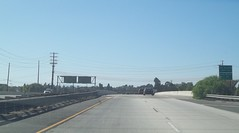 Westbound California State Route 22 at San Gabriel River and entering the County of Los Angeles (FreewayDan) Tags: road losangeles highway freeway southerncalifornia orangecounty trafficsignal