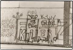 Tacoma's Hilltop neighborhood (circa 1988) (northwestgangs) Tags: graffiti tacoma eastside hilltop gangs crips piru gangwar drugwar bloodgang rivalgangs cripordie