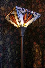Appartment in Casa Mila by A. Gaudi - Art Nouveau / Art deco chandellier [Explore 06/01/2014] (Sokleine) Tags: barcelona spain furniture catalonia unesco espana artnouveau gaudi espagne unescoworldheritage casamila barcelone lapedrera mobilier catalogne