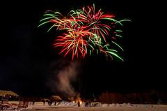 Milton Winter Festival 2014 (betsyfinstad) Tags: winter snow festival night vermont fireworks events february milton winterfestival