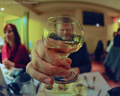 Whisky? (Scottwdw) Tags: newyork glass restaurant nikon village hand central sigma fisheye cny whisky tasting diageo baldwinsville wideopen 150mmf28 d700 syracusesuds rivergrill scottthomasphotography onondagacountry