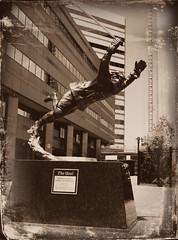 OrrDagSilo ( BruinsFan ) Tags: street hockey statue boston garden dc goal massachusetts 4 bruins daguerreotype bostonma causeway td bruinsfan bobbyorr filmframe ibruinsfani tiponeil dcmemorialfoundation delawarenorth picmonkey