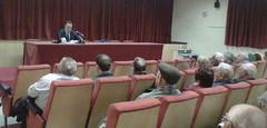Reunión de Rafael Serralta con las asociaciones vecinales de Ibi