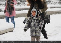 Snowy Day in Tehran (Jamshidieh Park) (Tehran.Social) Tags: park snow art children photography media mayor colorfull social center tehran command municipality jamshidieh ghalibaf qalibaf vision:people=099 vision:face=099 vision:text=0505 vision:outdoor=0877