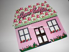 Convite Casa de Boneca (LUCIANA CONVITES E LEMBRANAS) Tags: infantil boneca convite festa aniversrio casadeboneca chdeboneca