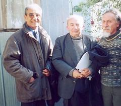 Con Monseñor Ysern, Obispo de Chiloé y Renato Cárdenas