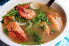 na hipon shrimp in sinigang sour soup shrimp sinigang sinigang na ...