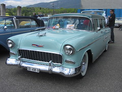 American Live, Luterbach 04.05.2014 (v8dub) Tags: auto old classic chevrolet belair 1955 car schweiz switzerland automobile suisse live air meeting automotive voiture chevy american oldtimer oldcar bel collector wagen luterbach pkw klassik
