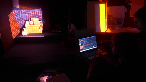 """Worskhop: Resolume / Videomapping / Live Video on the Stage • <a style=""""font-size:0.8em;"""" href=""""http://www.flickr.com/photos/83986917@N04/13938479508/"""" target=""""_blank"""">View on Flickr</a>"""