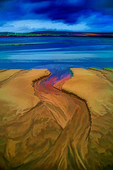 Watercolour in sand (Impact Imagz) Tags: colour beach water painting sand watercolour gress sandart isleoflewis outerhebrides scottishhighlands gressbeachscotland