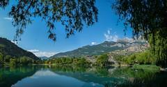 Lac de la roche de rame (05) - 02 (aups83) Tags: mountain lake france alps landscape lac panasonic pelvoux hautesalpes écrins larochederame dmcfz28 ruisseauxetrivieres