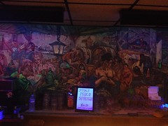 Buccaneer (jericl cat) Tags: bar painting mural interior pirates paintings dive murals historic blacklight pirate theme buccaneer sierramadre frankbowers