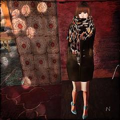 -FAUN- Turtlenecked Wool Coat (n0rik0 resident) Tags: fashion skin ufo sl secondlife candydoll faun taketomi glamaffair ryvolter trend3