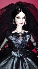2013 Haunted Beauty Vampire Bride Barbie (4) (Paul BarbieTemptation) Tags: beauty bride bill vampire ooak barbie haunted greening 2013