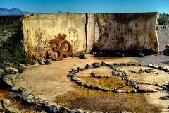 Top Of The Mesa (iopendesign) Tags: arizona ruins eden om watertank hdr mesa ohm sanskrit aum peacesymbol 2015 rockdesigns sigmadp2merrill