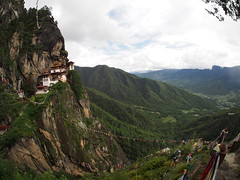 The Tigers Nest is Bhutan most photografed building and is one of the top attractions in Bhutan!