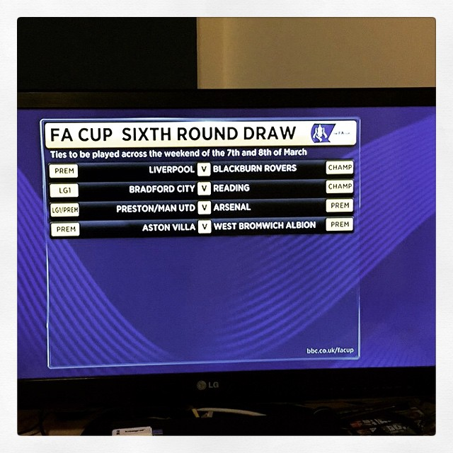 Good Fa Cup draw der