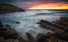 Fury (Guille Molina) Tags: ocean sunset sea sky cliff canon atardecer mar rocks long exposure waves sigma cielo 17 70 olas acantilado rocas cantabria exposicion larga cantabrico 60d