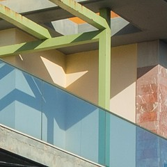 1 (maulbeerbaum) Tags: colors lines architecture reflections square triangle shadows haus material schatten mixture farben corralejo fuerte