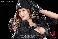 VERYCOOL TOYS VCF-2029 Black Female Shooter - 19 (Lord Dragon ) Tags: hot female toys actionfigure doll angelinajolie verycool onesixthscale 16scale 12inscale