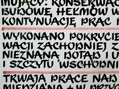 Wrocaw (isoglosse) Tags: sign handwriting poland polska schild polen wrocaw breslau znak handschrift