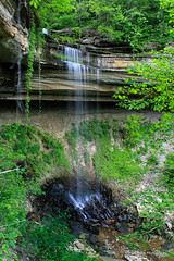 Chain Mill Falls (Mark Birkle) Tags: county ohio summer cliff fall mill water beautiful stone creek river photo waterfall spring big dangerous stream image scenic picture large indiana chain hidden waterfalls valley jefferson tall flowing hanover biggest township largest tallest chainmill