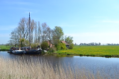 groninger landscape (jan emmo) Tags: groningen reitdiep vaartuig groningerlandschap