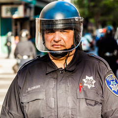 Oakland 2010 (Thomas Hawk) Tags: california usa oakland riot cops unitedstates unitedstatesofamerica protest police cop eastbay riots oaklandpd fav10 oaklandpolicedepartment oscargrant oaklandriots johannesmersehle oaklandca070810 oaklandriots2010 johnbiletnikoff